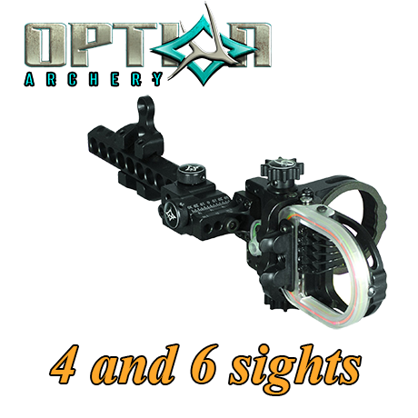 Option Archery Sights 4 and 6